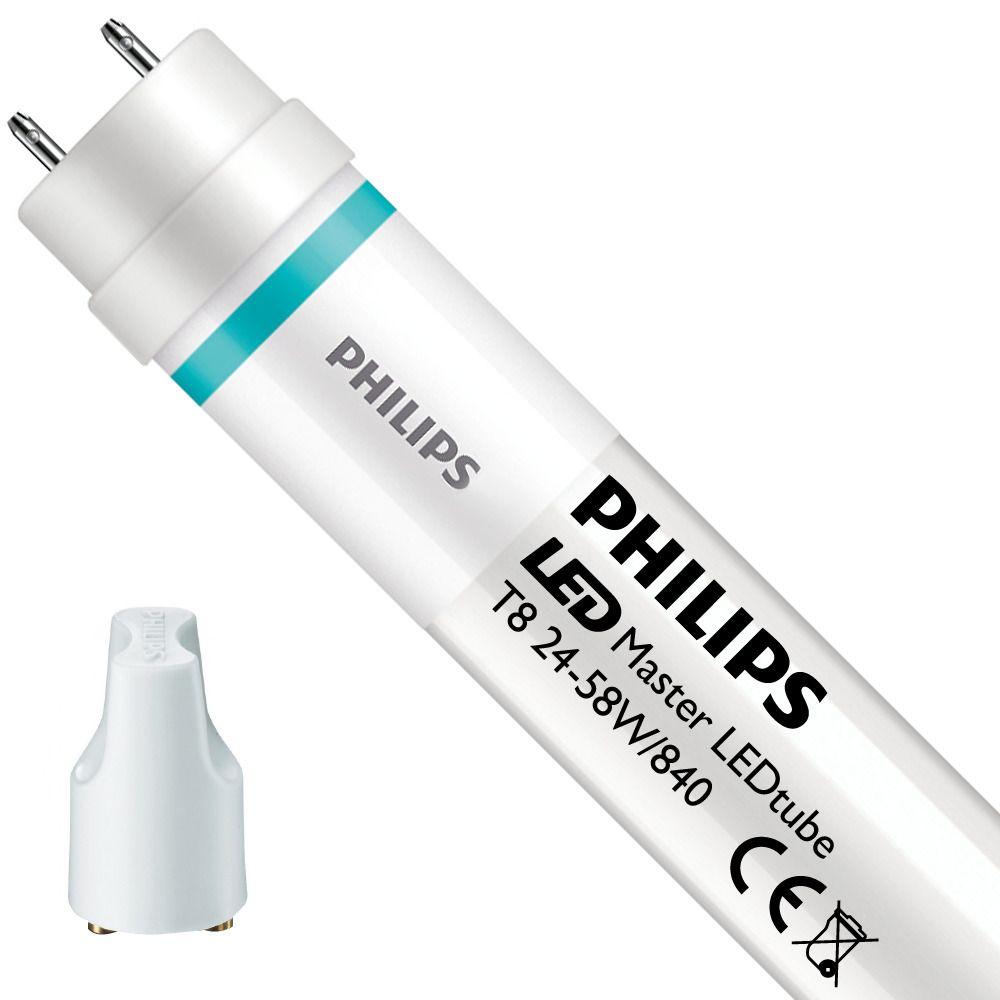 Philips LEDtube EM UO 24W 840 150cm (MASTER Value)   Kaltweiß - mit LED-Starter - Ersatz für 58W