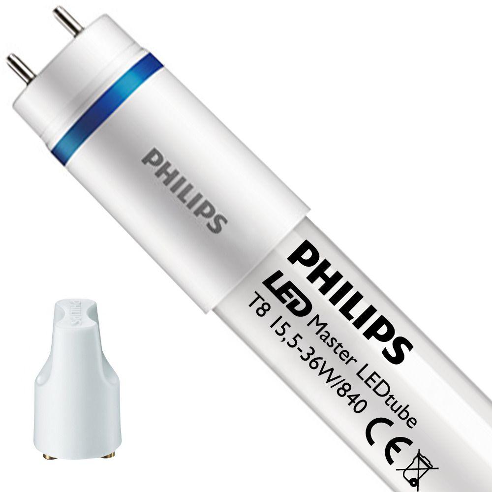 Philips LEDtube EM UO 15.5W 840 120cm (MASTER)   Kaltweiß - mit LED-Starter - Ersatz für 36W