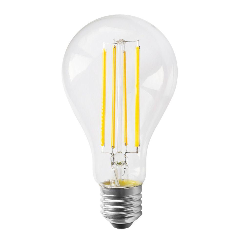 Noxion Lucent Classic LED Fadenlampe A70 E27 13W 827 Klar   Dimmbar - Extra Warmweiß - Ersatz für 100W