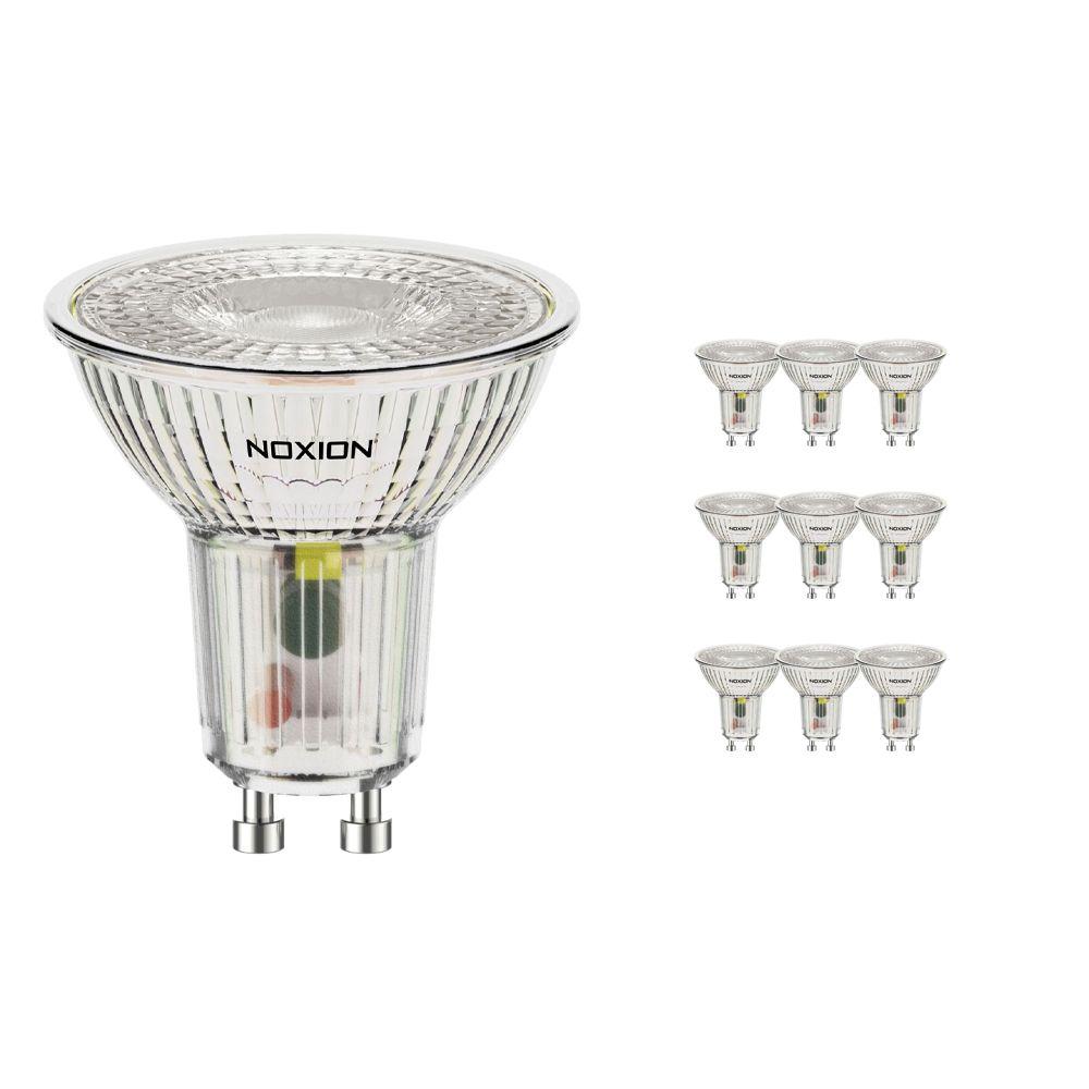 Mehrfachpackung 10x Noxion LED-Spot GU10 3.7W 827 36D 260lm   Extra Warmweiß - Ersatz für 35W