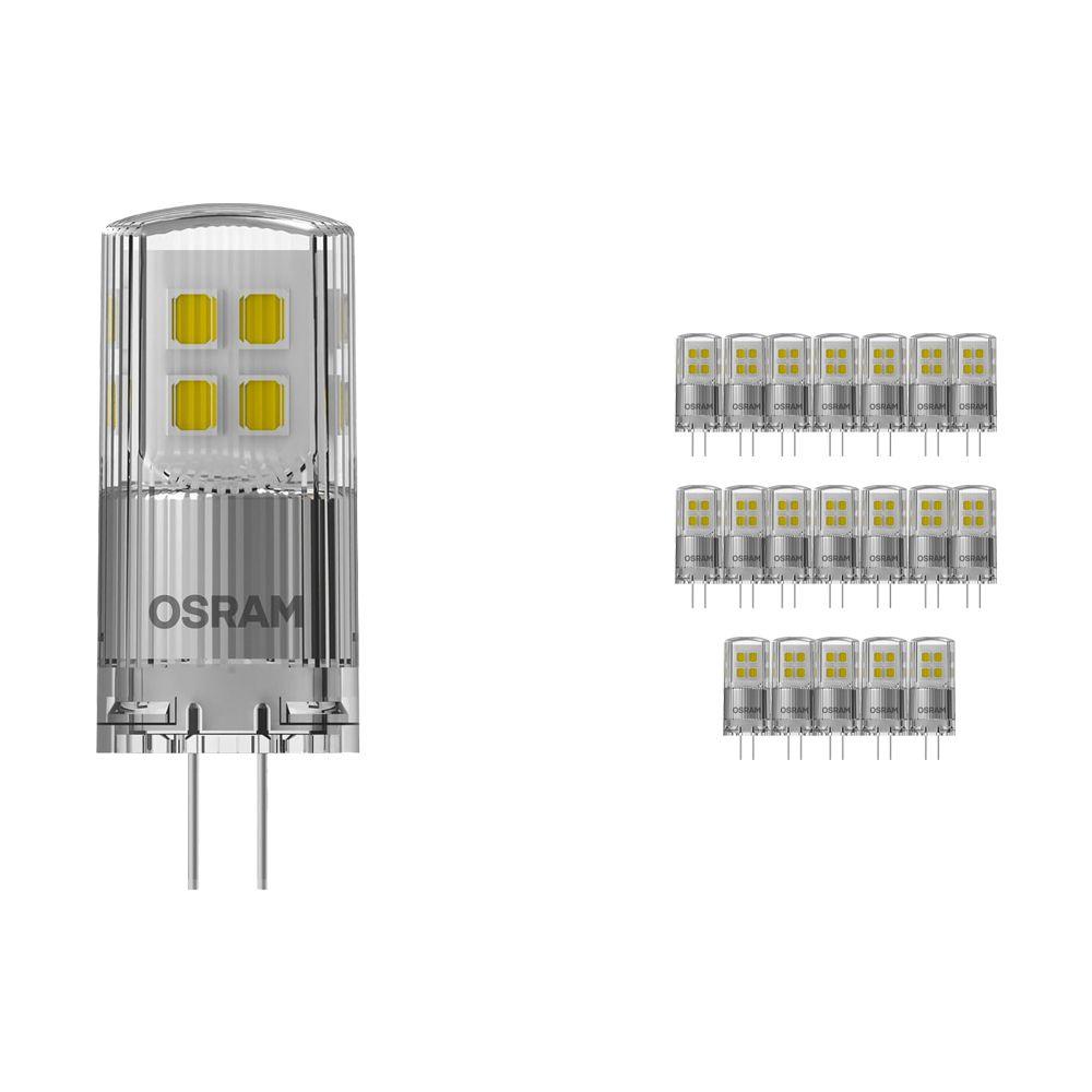 Mehrfachpackung 20x Osram Parathom LED PIN G4 2W 827   Dimmbar - Extra Warmweiß - Ersatz für 20W