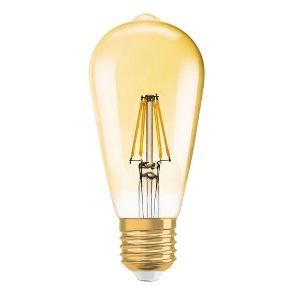 Osram Vintage 1906 LED E27 Edison 4W 825 Gold | Ersetzt 35W