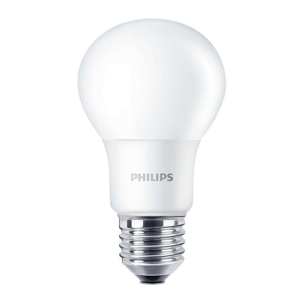 Philips CorePro LEDbulb E27 A60 8W 827 Matt   Ersetzt 60W