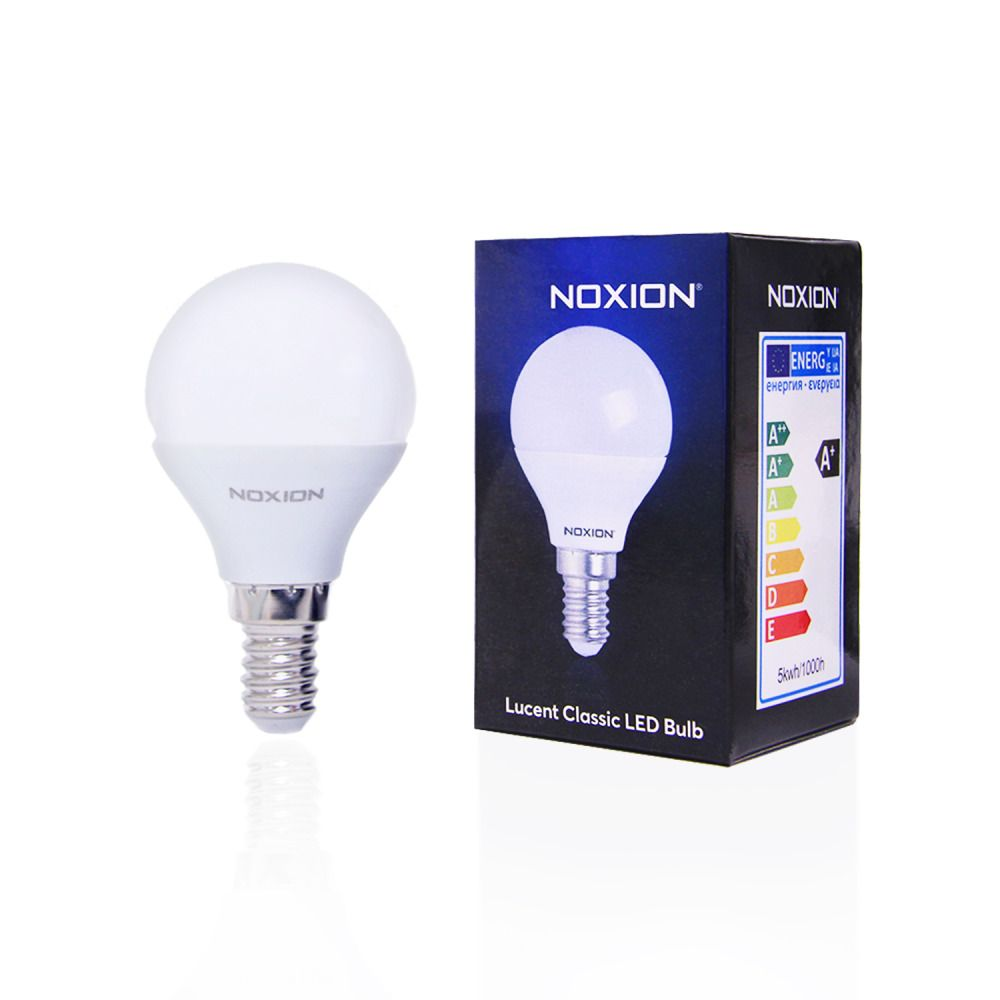 Noxion Lucent LED Classic Lustre 5W 827 P45 E14   Extra Warmweiß - Ersatz für 40W