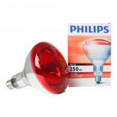 Philips BR125 IR 250W E27 230-250V Rot