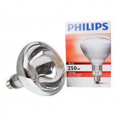 Philips BR125 IR 250W E27 230-250V Klar