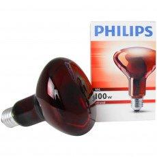 Philips R95 IR 100W E27 230V Rot