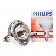 Philips BR125 IR 150W E27 230-250V Klar