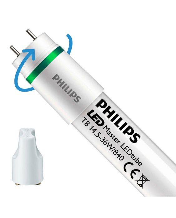 Philips LEDtube EM UE 14.5W 840 120cm (MASTER) | Kaltweiß - inkl. LED Starter - Ersetzt 36W