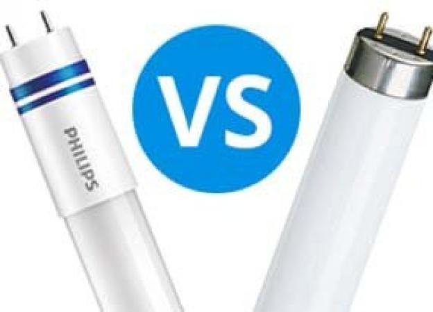 LED vs. Leuchtstoffröhre: Ein Vergleich
