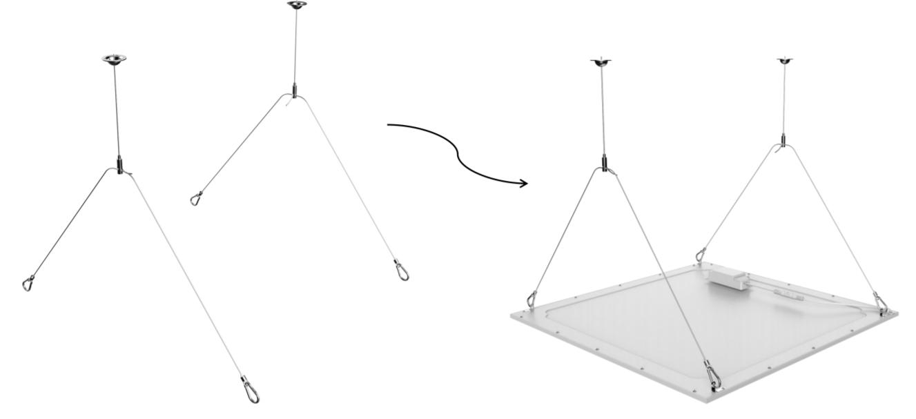 Aufhänge-Kit für Noxion LED-Panel