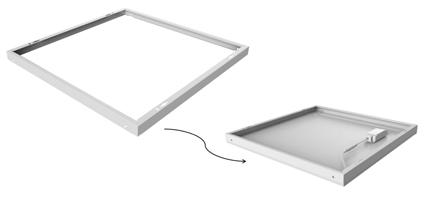 Einschiebe-Rahmen für Noxion LED-Panels