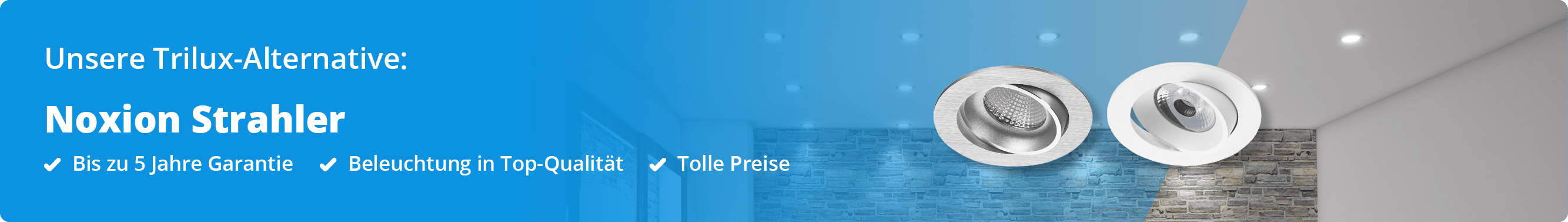 Trilux Banner LED Einbaustrahler