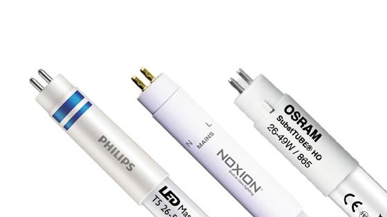 T5 LED-Röhren von verschiedenen Marken