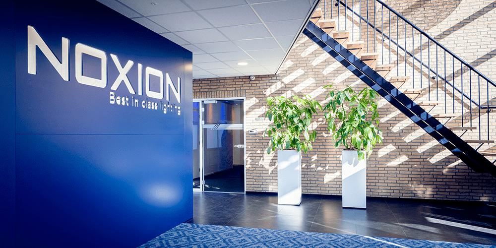 Eingang Any-lamp Büro in Helmond