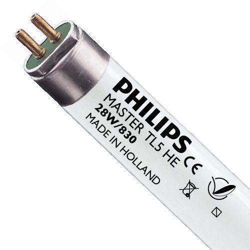 Philips TL5 HE 28W 830 (MASTER)   115cm - Blanc Chaud