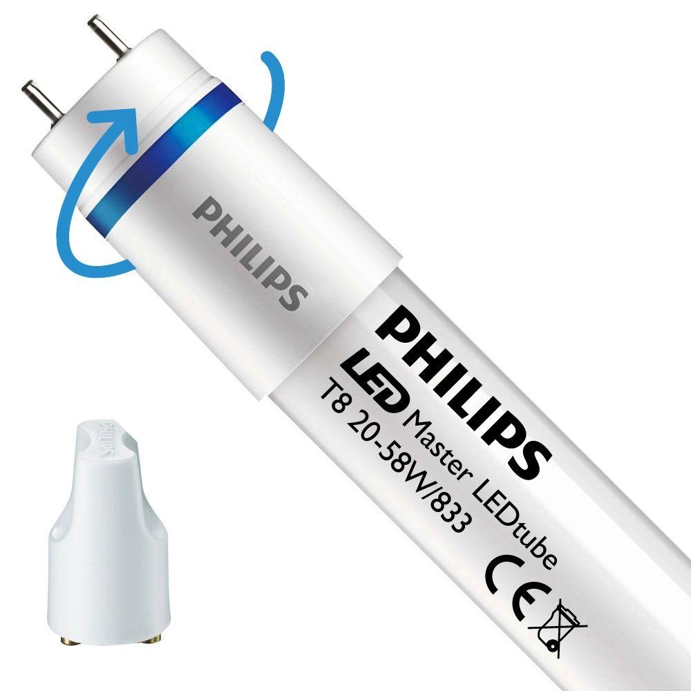 Philips LEDtube EM SO 20W 833 150cm (MASTER)   Food - Starter LED incl. - Substitut 58W - Rotatif