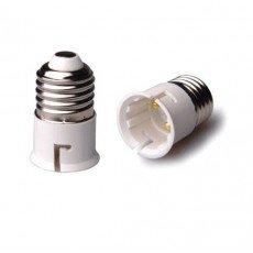 Adaptateur Ampoule Male E27 => Male B22