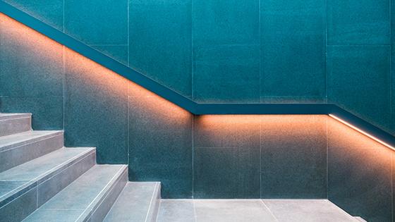 eclairage d'escalier