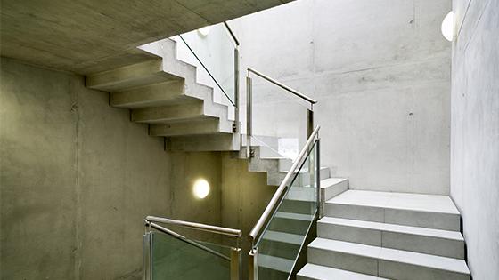 Eclairage des escaliers