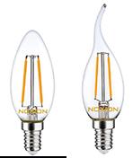 E14-LED-Lampen von Noxion